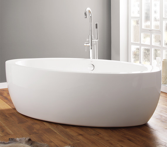 April Halton 1850 x 910mm Contemporary Freestanding Bath