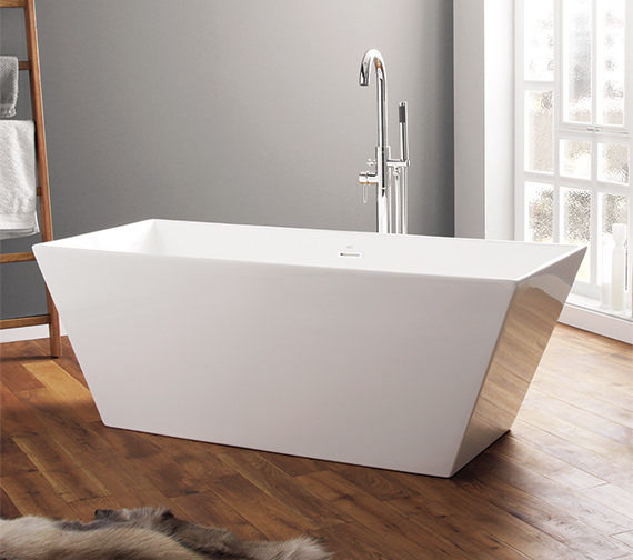 April Airton 1650 x 650mm Contemporary Freestanding Bath