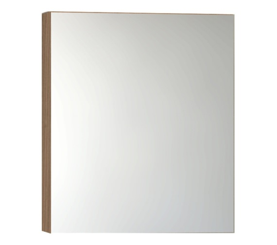 Vitra Classic 600mm Golden Cherry Mirror Cabinet