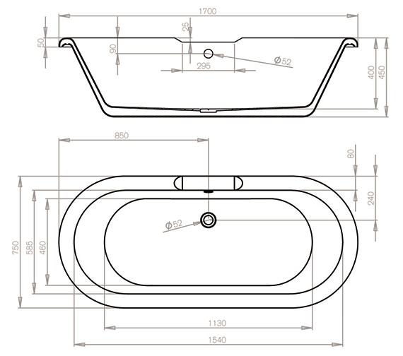 Technical drawing QS-V54697 / 28A1711