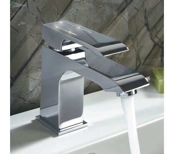Phoenix Diamond Mono Basin Mixer Tap With Klik Waste