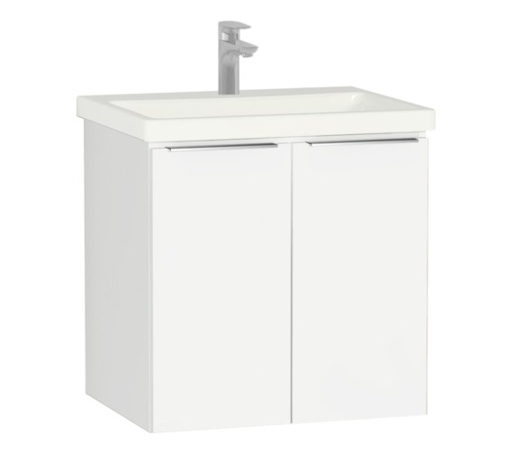 Vitra Ecora 600mm Wall Mounted 2 Door Unit With Basin