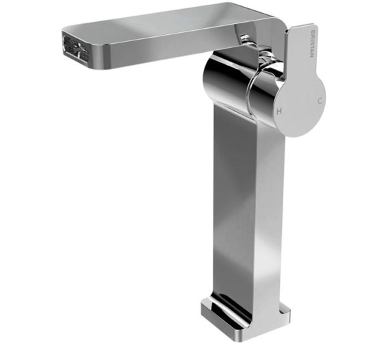 Bristan Exodus Single Hole Tall Basin Mixer Tap