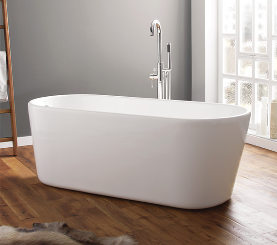 April Brearton 1500 x 700mm Contemporary Freestanding Bath