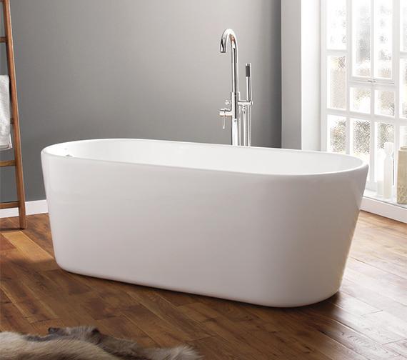 brearton 1700 x 700mm contemporary freestanding bath 74001 1700a