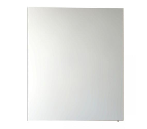 Vitra S50 Classic 600mm White High Gloss Single Door Mirror Cabinet