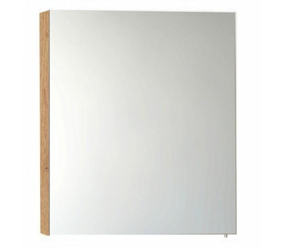 Vitra S50 Classic 600mm Oak Single Door Mirror Cabinet