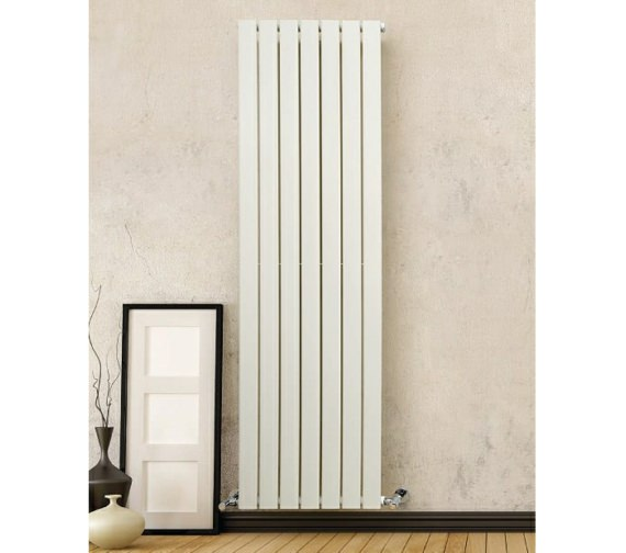 DQ Heating Tornado Double Vertical Designer Radiator 606 x 1971mm