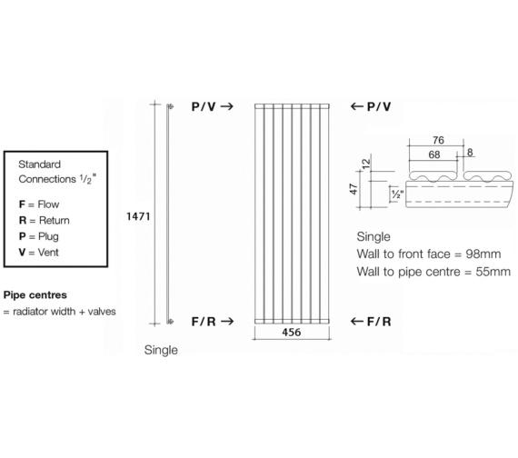 Technical drawing QS-V13574 / TOR1 147/6 V