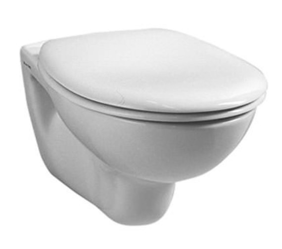 Vitra Arkitekt 515mm Wall-Hung WC Pan Long