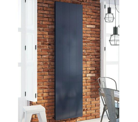 DQ Heating Vela Vertical Electric Designer Radiator 367 x 1900mm
