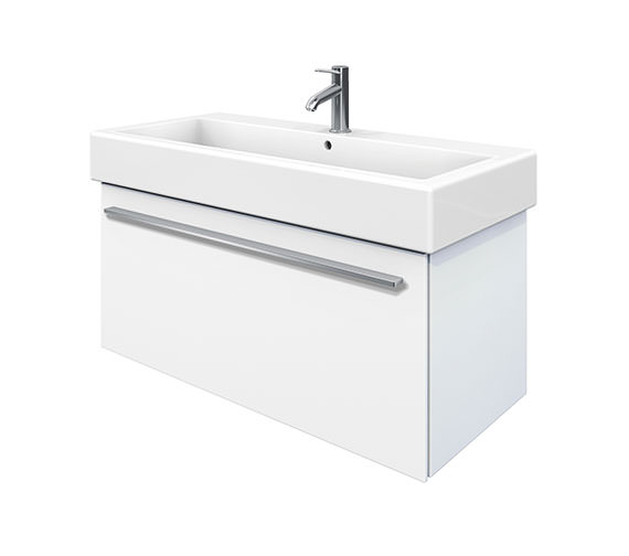 Duravit X-Large 950mm Vanity Unit With 1000mm Vero Washbasin