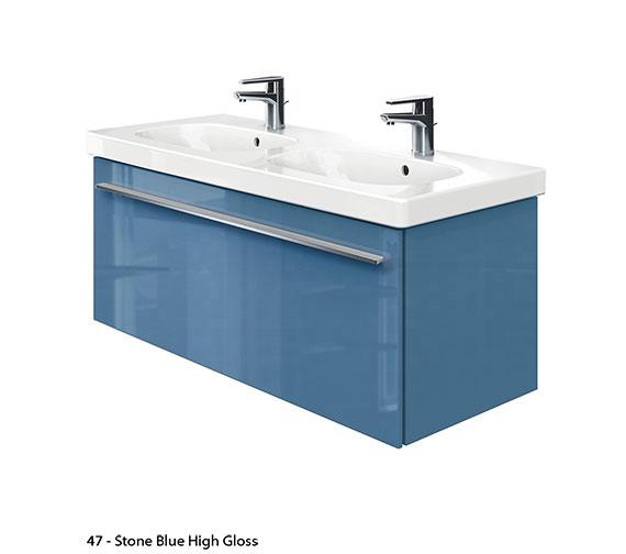 Duravit x large 1150mm vanity unit with 1200mm d code - Duravit bathroom furniture uk ...