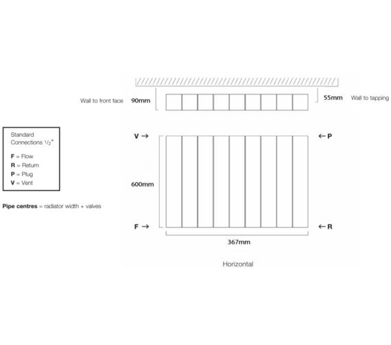 Technical drawing QS-V17921 / VELA60/3-A