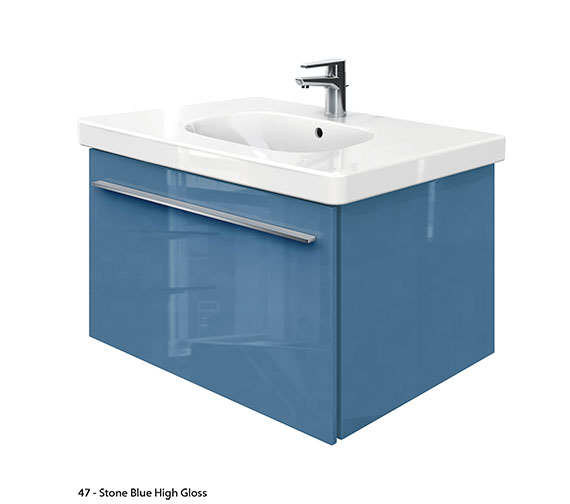 Duravit X-Large 800mm Vanity Unit With 850mm D-Code Washbasin