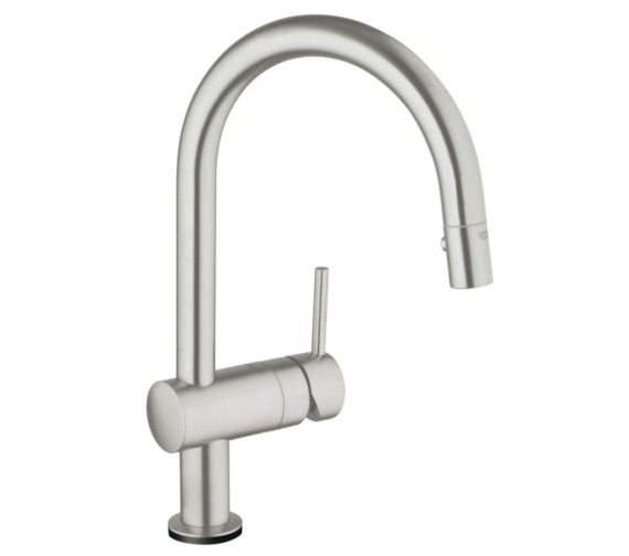 Grohe Minta Touch Electronic Half Inch Single Lever Kitchen Sink Mixer Tap