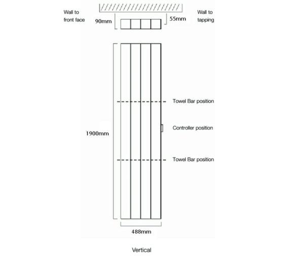 Technical drawing QS-V17926 / Vela-E 190/4