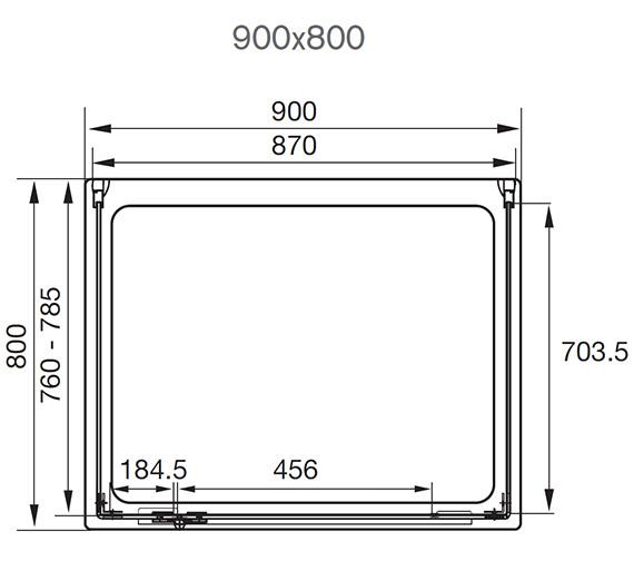 Technical drawing QS-V29785 / AQ1034