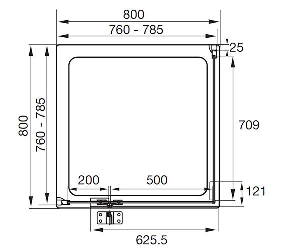 Technical drawing QS-V29788 / AQ1001