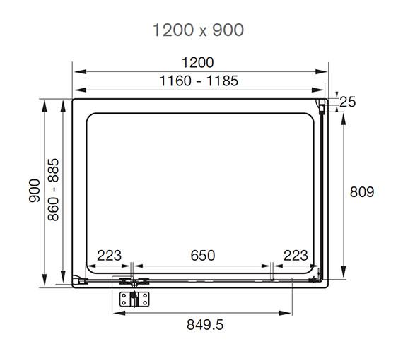 Technical drawing QS-V41209 / AQ1021