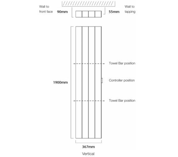 Technical drawing QS-V17925 / Vela-E 190/3
