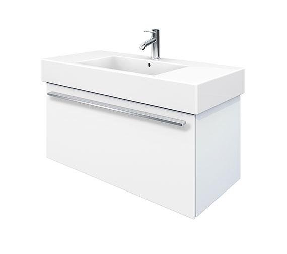 Duravit X-Large 1000mm Vanity Unit With 1050mm Vero Washbasin