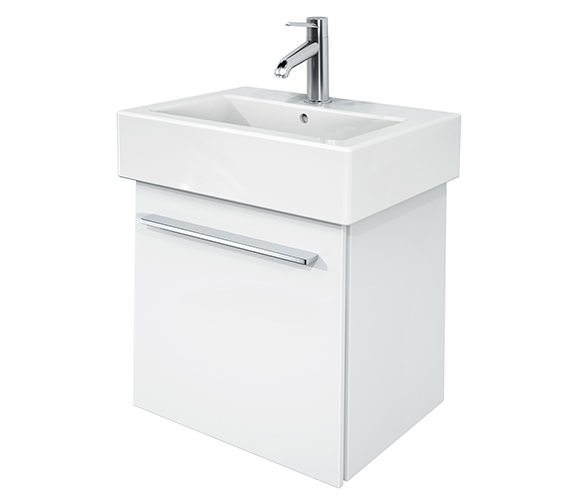 Duravit X-Large 450mm Vanity Unit With 500mm Vero Handrinse Basin