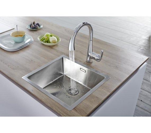 Alternate image of Grohe Zedra Kitchen Sink Mixer Tap Chrome