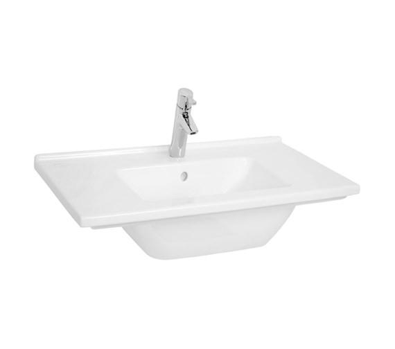 Vitra S50 Single Tap Hole 800mm Vanity Basin