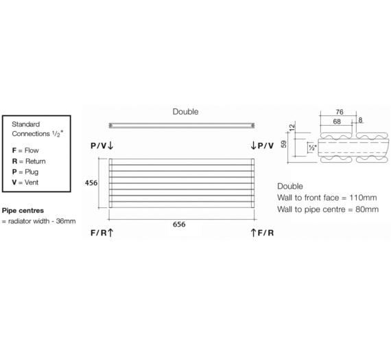 Technical drawing QS-V13583 / TOR2 65/6 H