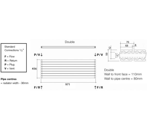 Technical drawing QS-V13585 / TOR2 97/6 H