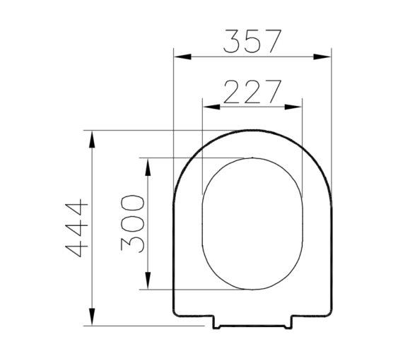 Technical drawing QS-V81887 / 61-003-001