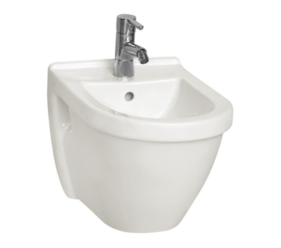 Vitra S50 Single Tap Hole Wall Hung Bidet