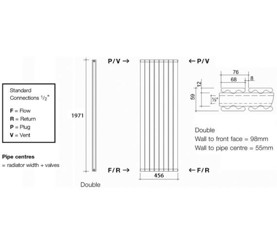 Technical drawing QS-V13581 / TOR2 197/6 V