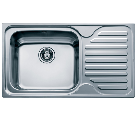 Teka Classic 1B 1D 86 45 Stainless Steel Right Hand Drainer Inset Sink