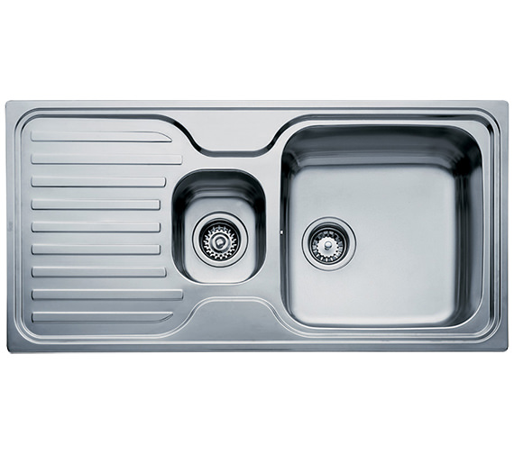 Teka Classic 1.5B 1D Stainless Steel Left Hand Drainer Inset Sink