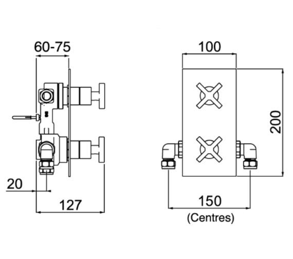 Technical drawing QS-V6912 / CAS SHCDIV C