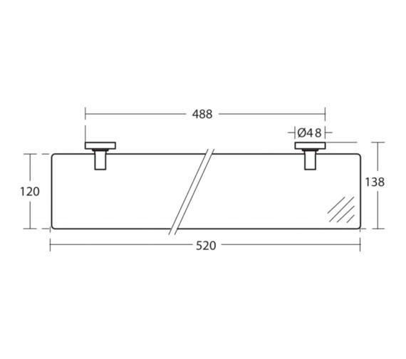 Technical drawing QS-V26726 / A9124AA