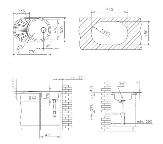 Technical drawing QS-V84248 / CTK1082