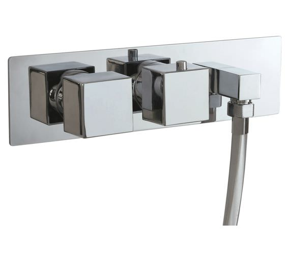 Phoenix SQ Series Concealed Single Function Twin Valve With Outlet Elbow