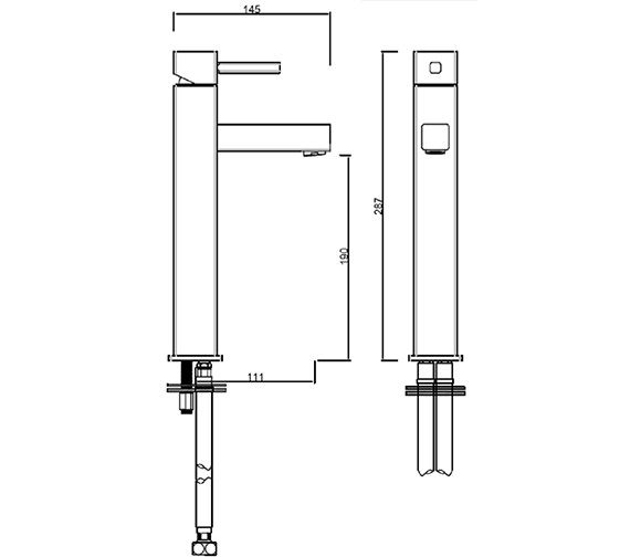 Technical drawing QS-V282 / PA/209/C