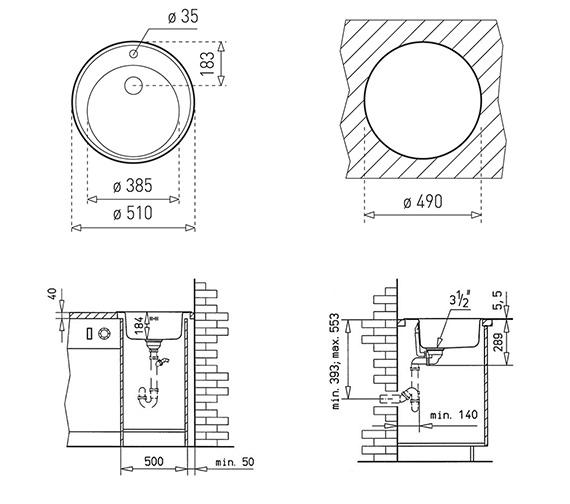 Technical drawing QS-V84247 / CTK1048
