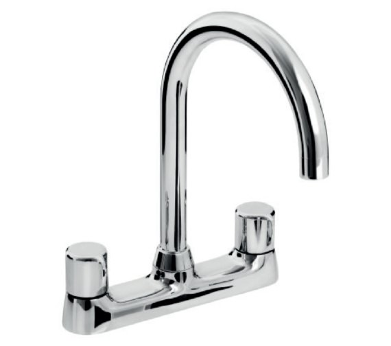 Bristan Choices Deck Mounted Kitchen Sink Mixer Tap