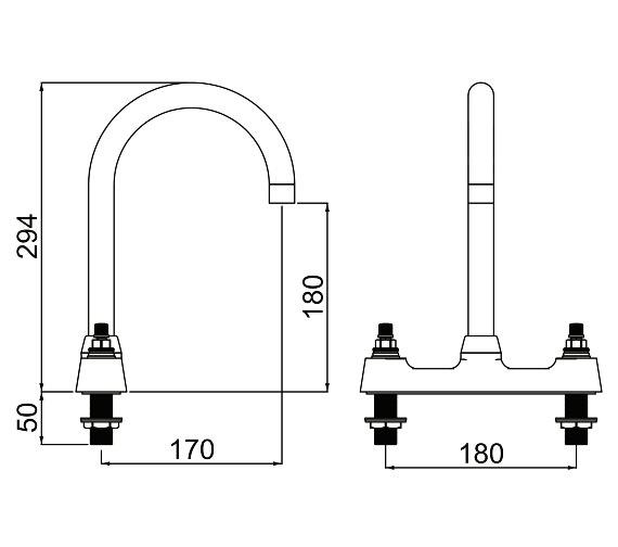 Technical drawing QS-V14283 / CHC DSM C