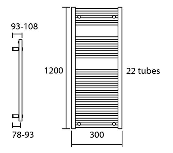 Technical drawing QS-V13617 / Elec-Nemo 30/120
