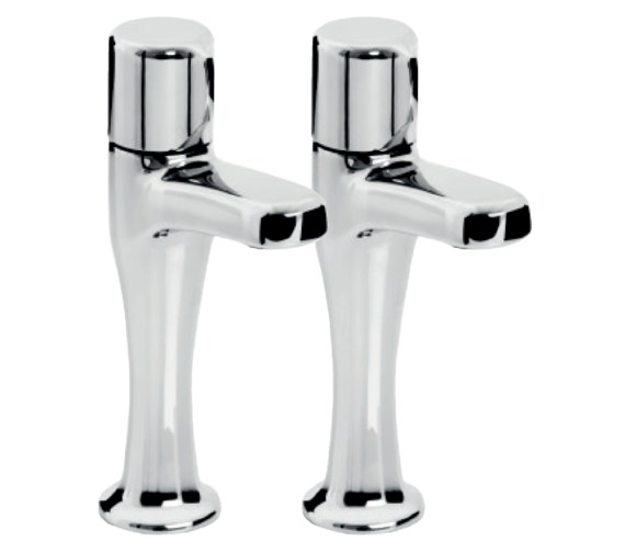 Bristan Choices Pair Of High Neck Sink Taps