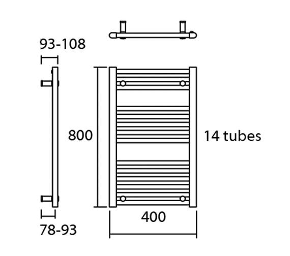 Technical drawing QS-V13603 / Elec-Metro 40/80