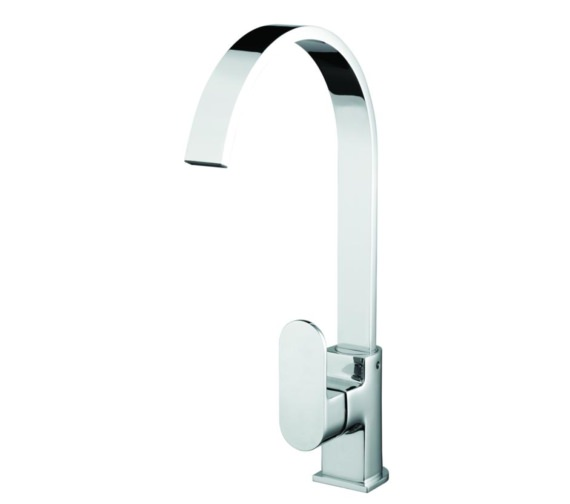 Bristan Cherry Easyfit Kitchen Sink Mixer Tap Brushed Nickel