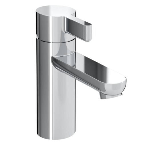 Bristan Clio Single Hole Basin Mixer Tap With Clicker Waste