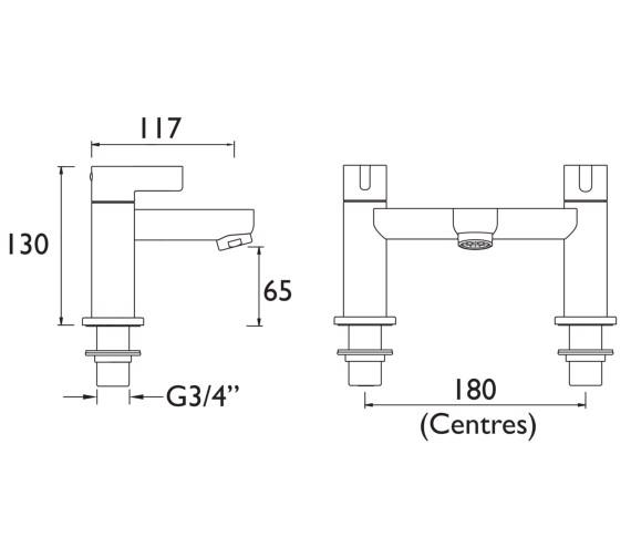 Technical drawing QS-V6926 / CLI BF C